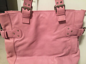 Pink Marc Jacobs leather handbag Strathcona County Edmonton Area image 2
