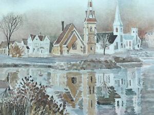 Nova Scotia art - Lunenburg and Mahone Bay