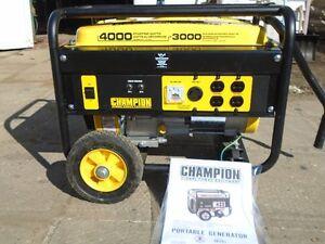 génératrice 4000 watts