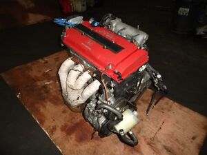 JDM HONDA INTEGRA B18C TYPER 1.8L ENGINE, HEADER, 1998-2001