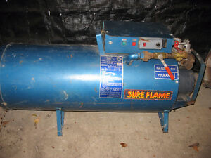 Sure Flame Construction Heater