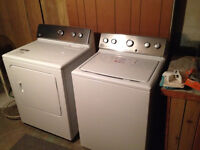 WASHER & DRYER like NEW