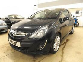 VAUXHALL CORSA SRI, Black, Manual, Petrol, 2014