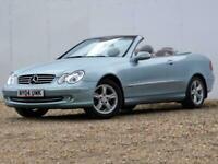 Mercedes-Benz CLK 2.6 CLK240 Avantgarde Cabriolet 2dr 170 BHP- Just 66,000 Miles