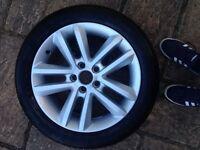 VW wheel 17 inch