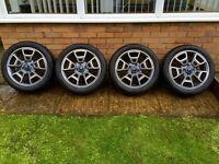 "FORD 17"" Alloys Alloy Wheels and Tyres are Brand New"