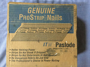 Paslode Prostrip Nails for air nailers