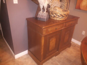 Antique side bar/cabinet/buffet