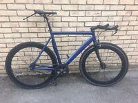 """Fixie: Navy Blue 20"""" Bike"""