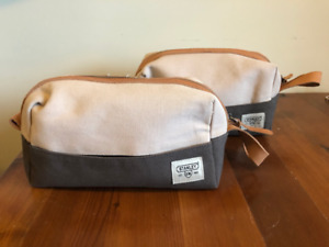 LIKE NEW! Pair of Stanley Tools Wash Toiletry Bags