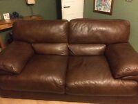 Sofa 2 Seater - High Quality Genuine Leather