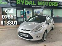 2011 Ford Fiesta 1.4 TITANIUM 5d 96 BHP Hatchback Petrol Manual