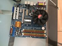 Motherboard with Ram