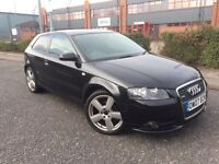 ***2007 AUDI A3 2.0 TDI S-LINE FULL LEATHER DRIVES LOVELY*** £3495! *WARRANTIES*