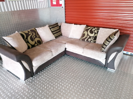 NEW CONDITION CORNER SOFA LOCAL DELIVERY AVAILABLE TODAY
