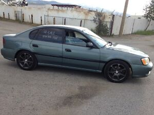 2001 Subaru Legacy Sedan w/summer& winter tires