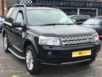2010 Land Rover Freelander 2.2 SD4 HSE 4X4 5dr Diesel black Automatic