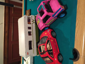 BARBIE  Beatle  and Jeep