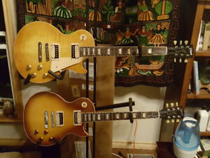 Selling my standard faded les Pauls to fund an r7 gold top.