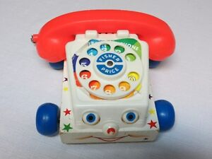 Fisher Price Pull Telephone - Vintage