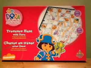 Treasure Hunt with Dora Board Game