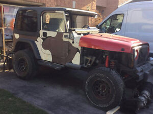 1997 Jeep Wrangler TJ Coupe (2 door) - PROJECT