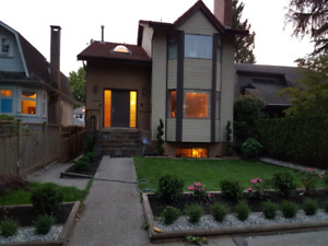4BR+den/2.5 bath house for rent, fully-renovated. Kerrisdale
