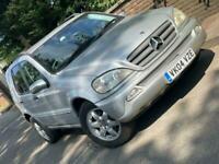 2004 Mercedes-Benz M-CLASS 2.7 ML270 CDI 5d 163 BHP *** KEYS *** SUV Diesel Auto