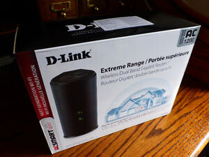 D-Link Extreme Range Wireless Dual Band Router AC 1200, 860-L