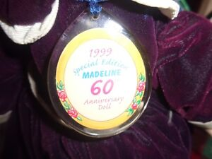 MADELINE DOLL CELEBRATING 60 YEARS WITH STAND Windsor Region Ontario image 2