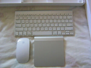Apple Bluetooth Mouse Keyboard and Trackpad