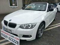 2012 12 BMW 3 SERIES 3.0 330D SPORT PLUS EDITION 2D 242 BHP**F.S.H**CONVERTIBLE*