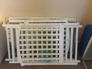Kids bed and baby crib $40