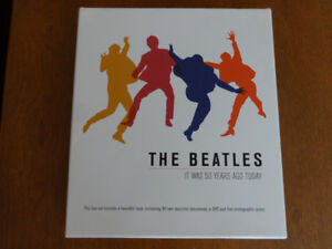"""The Beatles """"It Was 50 Years Ago Today"""" collectible box set"""