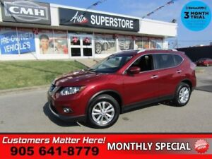"2015 Nissan Rogue SV  AWD ROOF 6W-SEAT HS CAM SMART-KEY 17""-ALLO"