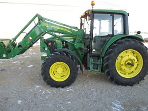 John Deere 6330 with 673 loader - very low hrs
