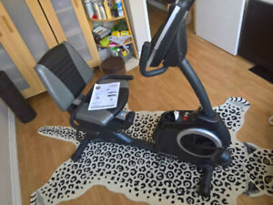 Exercise Recumbent bike *Used 3 Times* Moving