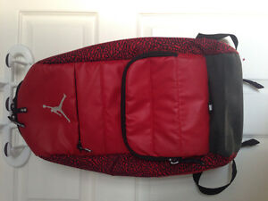 Red jordan backpack, mint condition