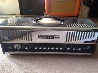 Line 6 HD 147 guitar amp plus pedalboard