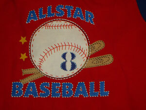 Boys Size 12-18 months Baseball Short Sleeve T-Shirt Kingston Kingston Area image 2