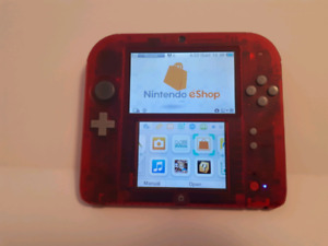 Nintendo 2DS Crystal Red $160