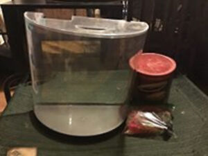 TETRA 3 GALLON FISH TANK & ACCESSORIES