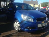 2010 (10) Chevrolet Aveo 1.2 LS **43,000 miles** (Finance Available)