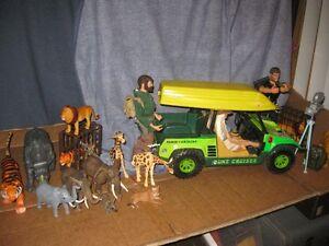 GI JOE Safari Jeep Jungle,whit more items,NICE KIT G-CONDITION,s