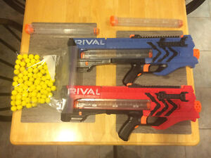 Nerf Rival Blasters and Magazine Kit