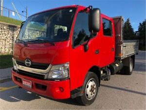 2013 Hino 195 Commercial Dump Bed|Diesel|Accident Free|Dual Rear