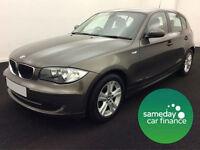 £177.90 PER MONTH 2008 BMW 118D 2.0 SE DIESEL AUTO/MANUAL 5 DOORS