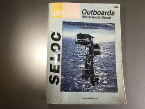 1965-1989 Mercury Outboards 1-2 Cyl Shop Manual 2-40 HP 2 Stroke