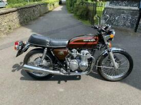 1979 (V) Honda CB550-K3 SOHC - Candy Kent Brown - VGC - 22686 miles