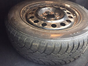 Used Winter Tires + Rims for Sale